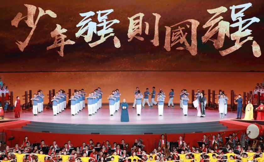 庆祝澳门回归祖国20周年文艺晚会在澳门举行