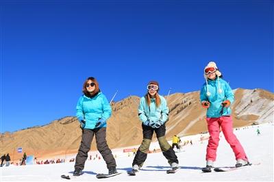 第七届金张掖冰雪旅游文化节开幕