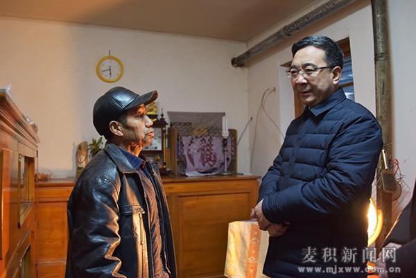 张智明入户走访五龙镇小窑村帮扶对象