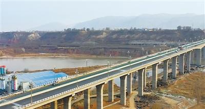 """兰州""""西大门""""第一桥川海大桥即将开通"""