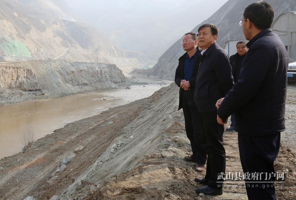 马勤学督查渭河流域生态环境保护工作