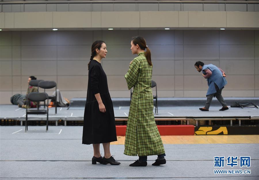 (文化)(8)国家大剧院新制作话剧《二月》即将上演