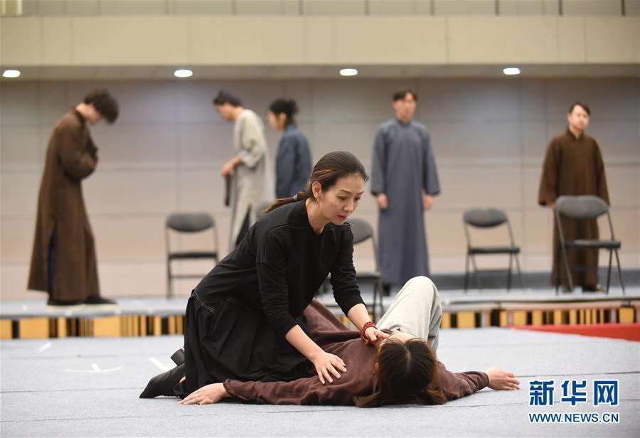 (文化)(2)国家大剧院新制作话剧《二月》即将上演