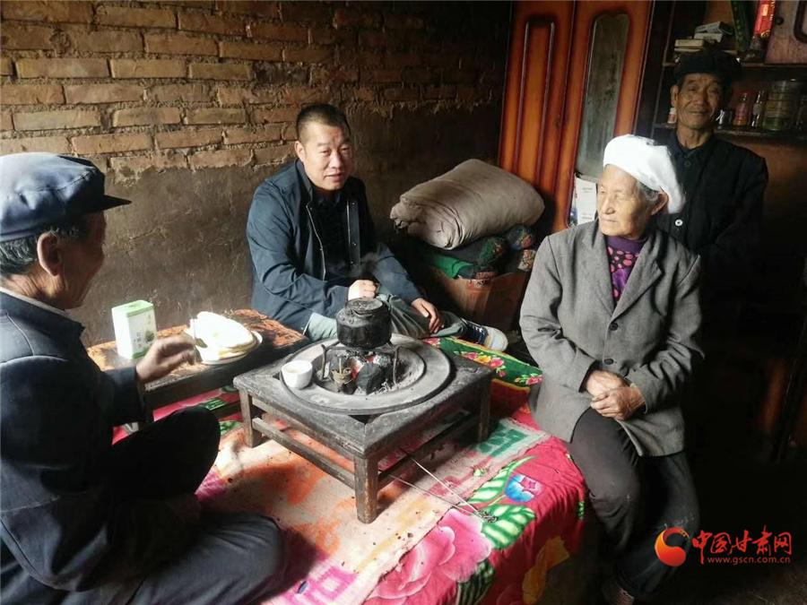 【再见2019 你好2020】 甘南州临潭县龙元山村第一书记陈勇:愿乡亲们生活比蜜甜