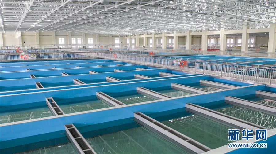 (社会)(4)银川都市圈城乡西线供水一期工程建成通水