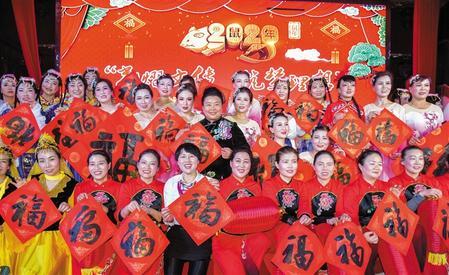 甘肃庆城县红红火火迎新年(图)
