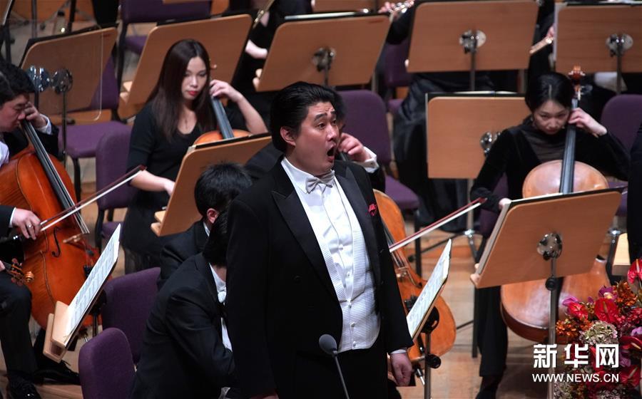 """(文化)(2)上海交响乐团举行""""2020上海新年音乐会"""""""