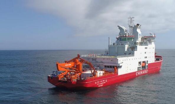 中国首次在南极宇航员海开展海洋生态调查