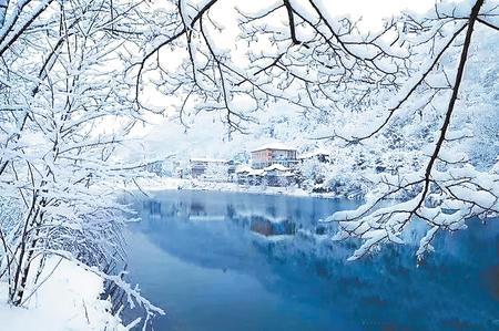 【印象陇原】冬日去看官鹅沟