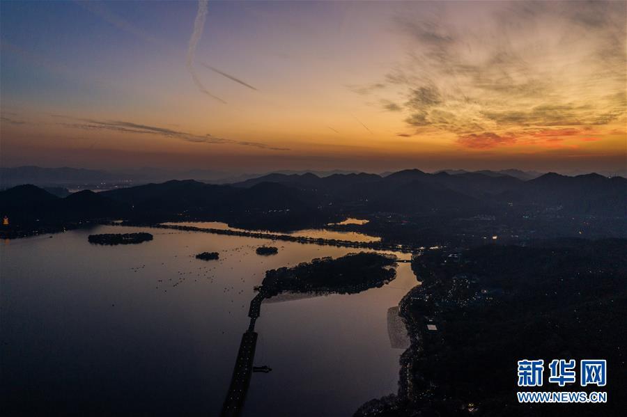 (环境)(2)杭州:晚霞绚满天