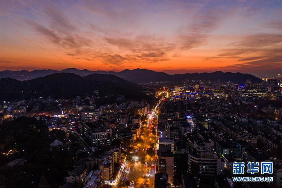 (环境)(4)杭州:晚霞绚满天