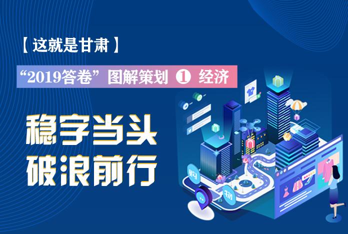 """两会策划丨2019年甘肃这份""""经济答卷"""",稳稳的!"""