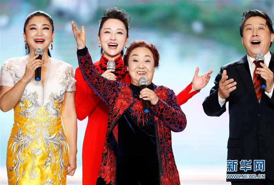 """(文化)(2)""""百花迎春——中国文学艺术界联合会2020春节大联欢""""在京举行"""