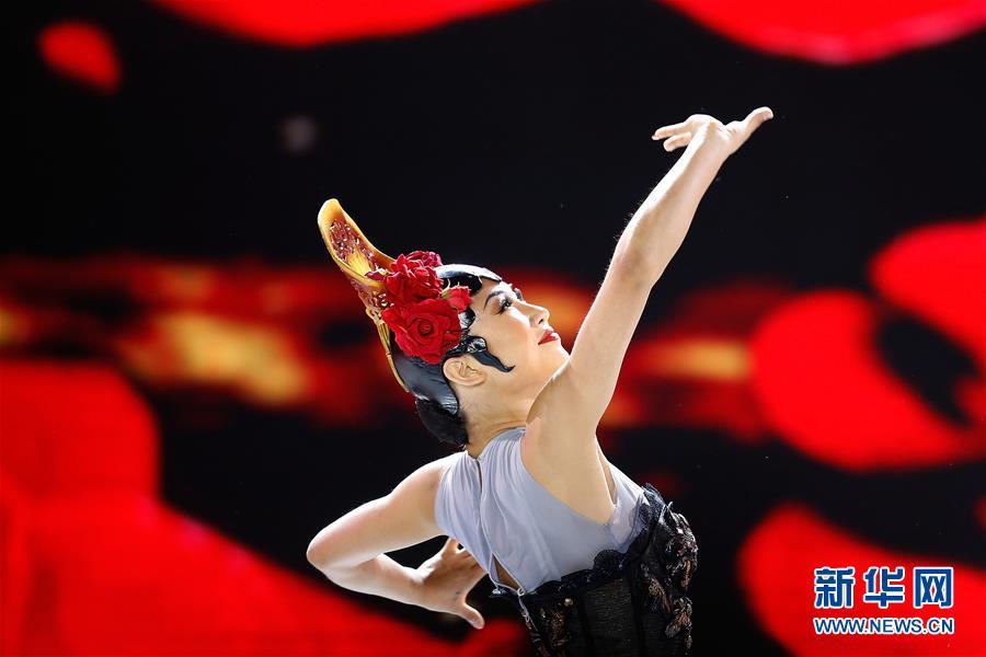 """(文化)(3)""""百花迎春——中国文学艺术界联合会2020春节大联欢""""在京举行"""