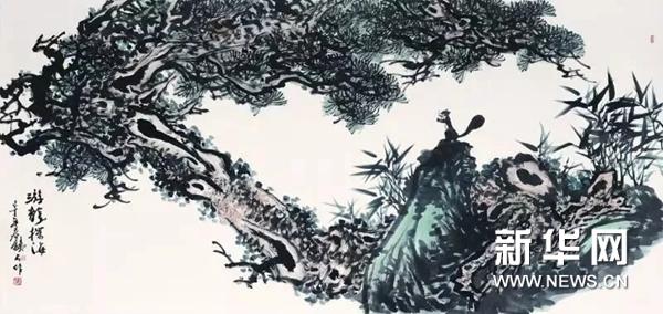张铁石专题画展宜春开幕 描绘明月山大美山水