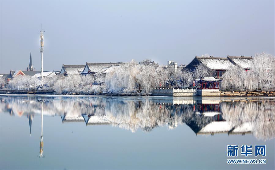 #(环境)(3)山东聊城:雾凇美景惹人醉