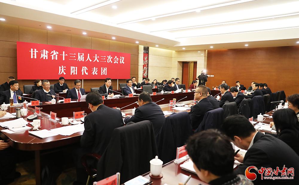 【两会快讯】林铎在庆阳代表团、临夏代表团参加审议《政府工作报告》