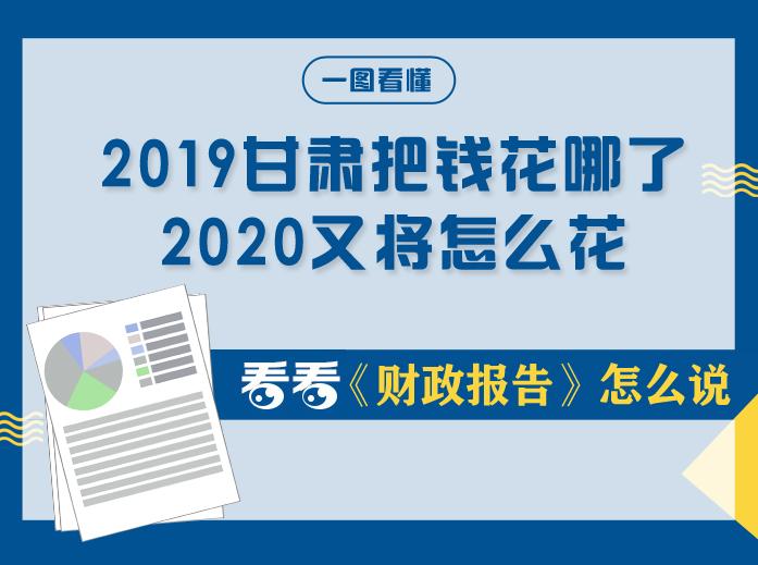 甘肃两会丨2019年甘肃把钱花哪了?2020年又将怎么花?