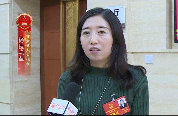 省人大代表杨拉毛草:利用可再生资源 支持科技型企业发展