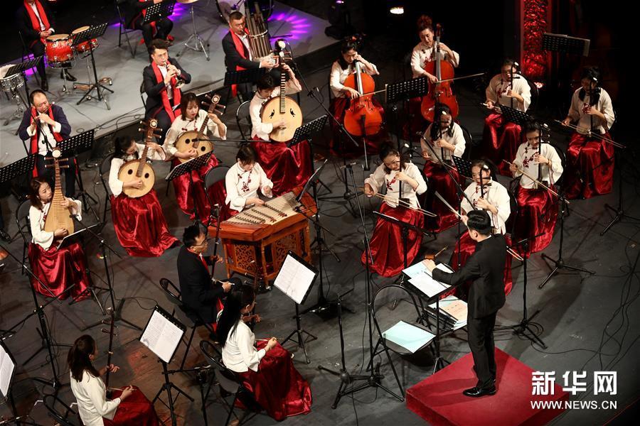 (国际)(2)《魅力丝路·陇上行》音乐会在萨拉热窝举行