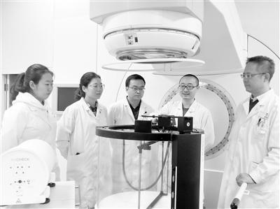兰大一院引进全球最先进的放疗质控设备三维水箱 让放疗更精准