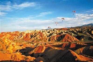 张掖七彩丹霞景区晋升国家5A级 成为甘肃旅游发展新引擎