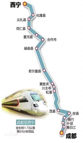 西宁至成都铁路项目获批