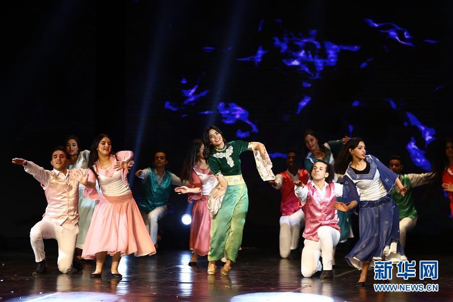 (国际)(4)2020埃及中国春节晚会在开罗举行
