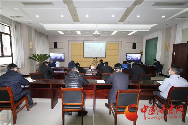 甘肃省商务厅召开全省商务系统应