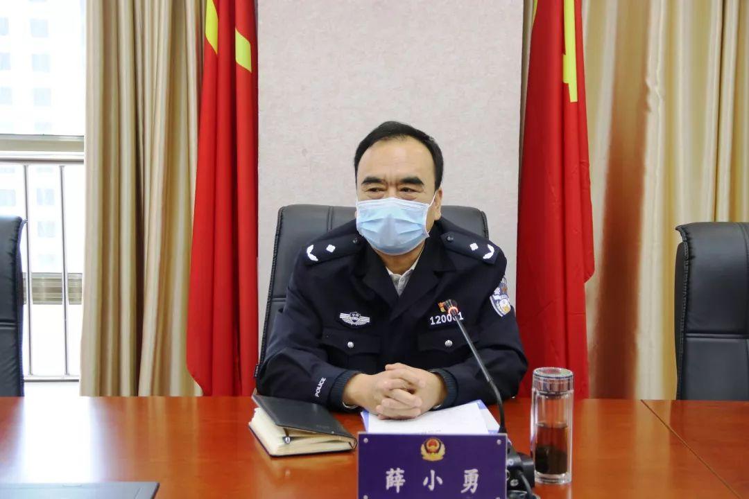 陇南市公安局召开疫情防控领导小组会议