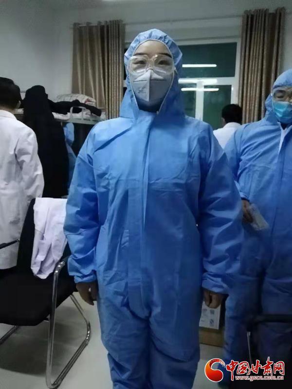 """【甘肃全民战""""疫""""】致敬疫情防控一线的年轻护士"""