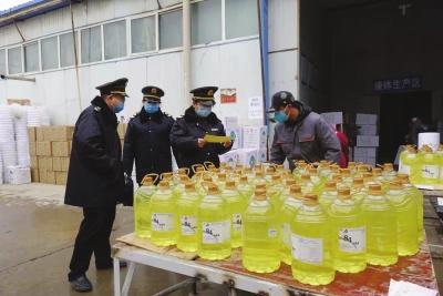 甘肃省卫生健康委综合监督局对11家消毒产品生产企业和兰州市部分消毒产品经营单位进行督导检查