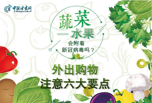 图解|蔬菜水果会附着新冠病毒吗?外出购物注意六大要点