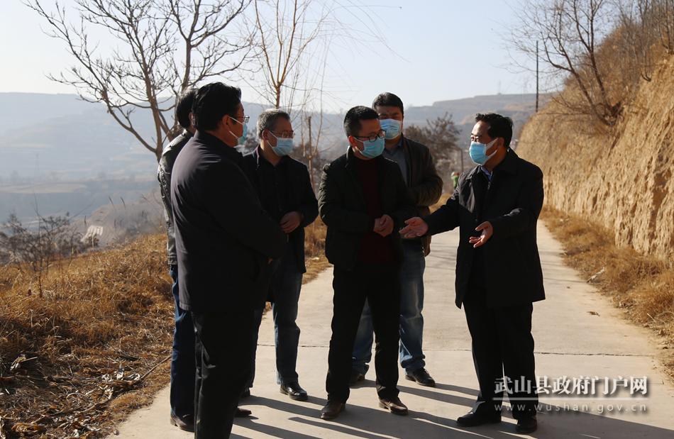 索鸿宾在鸳鸯、桦林镇检查指导疫情防控和脱贫攻坚等工作