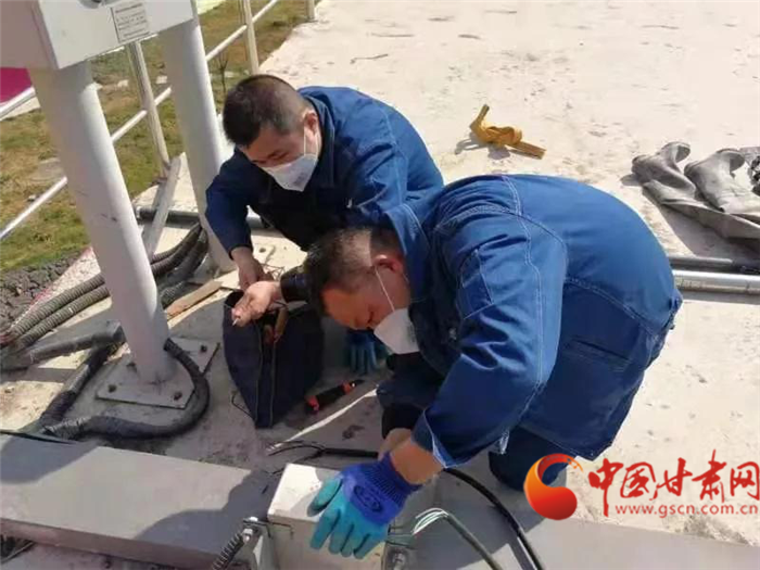 陇南武都:兜牢民生防疫底线 全力保障供水安全