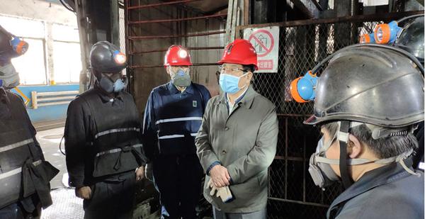 林铎在平凉调研指导疫情防控和生产恢复