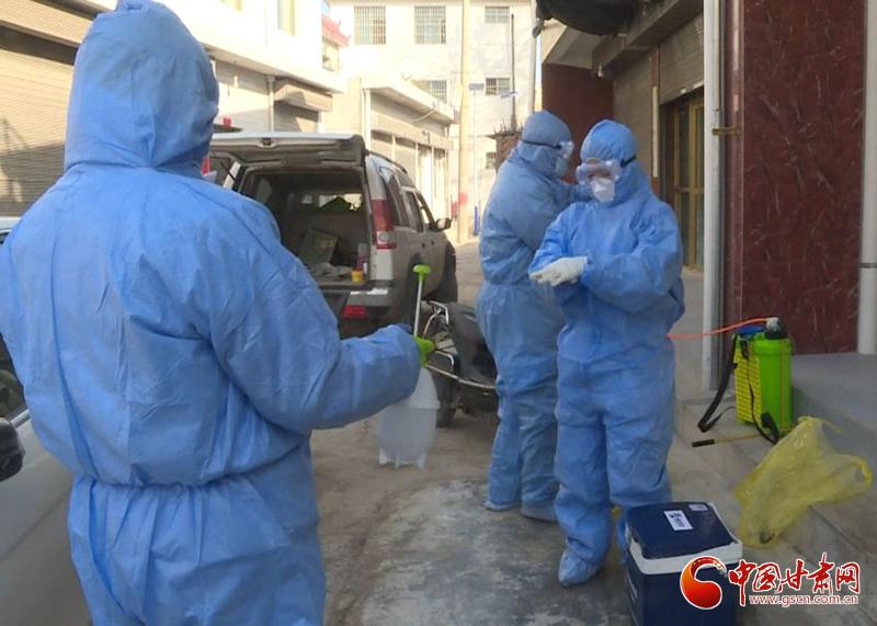 """【甘肃全民战""""疫""""】西和县完成438名武汉返回人员核酸检测采样送检"""