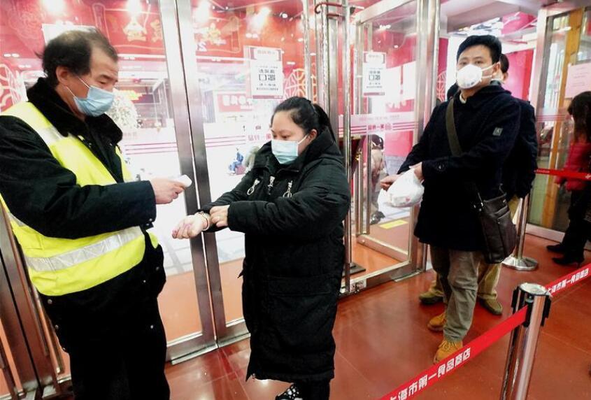 上海:部分商铺复市 严格防控疫情