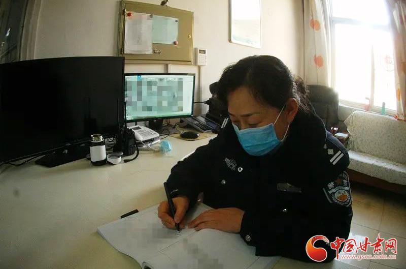 """【甘肃全民战""""疫""""】战""""疫""""一线的别样生日(图)"""