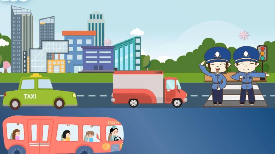 82秒动画带你了解甘肃疫情低、中风险县怎样恢复交通秩序