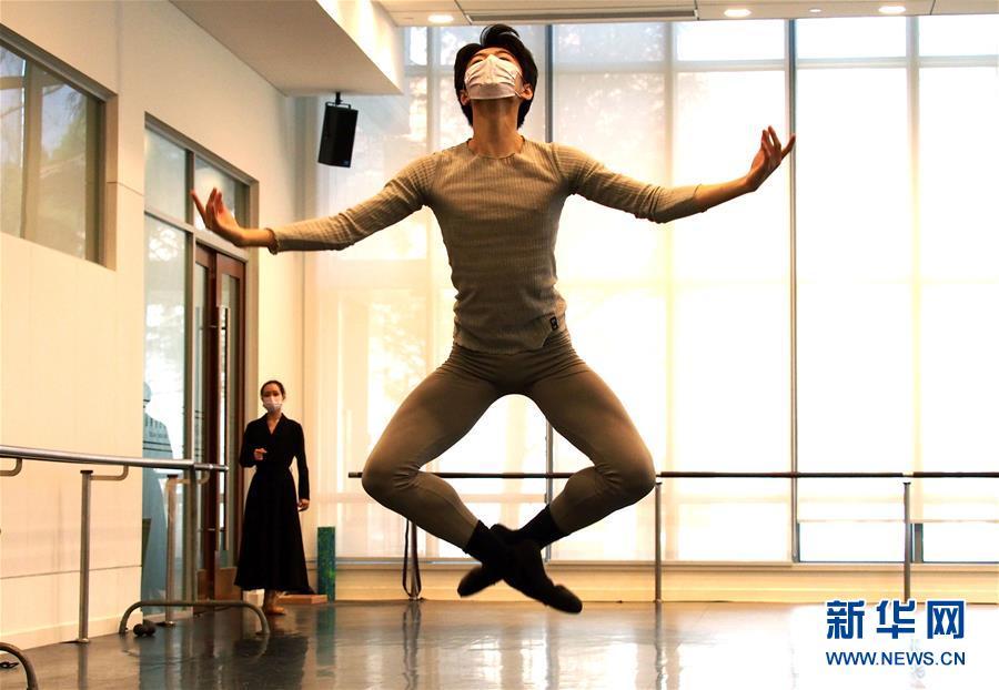 """(文化)(2)上海芭蕾舞团排练新作致敬""""逆行者"""""""
