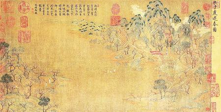 【文物中的历史】古画里的春天