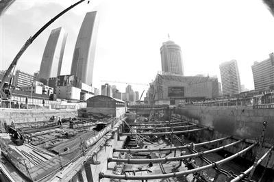 兰州轨道交通东方红广场枢纽站周边综合整治项目已全面复工