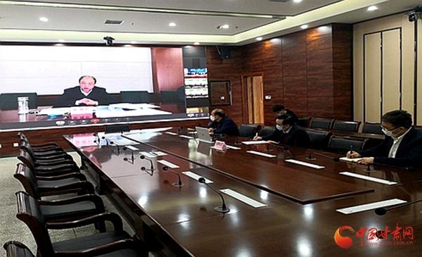 甘肃省本科高校在线教学工作经验交流视频会在西北师大召开