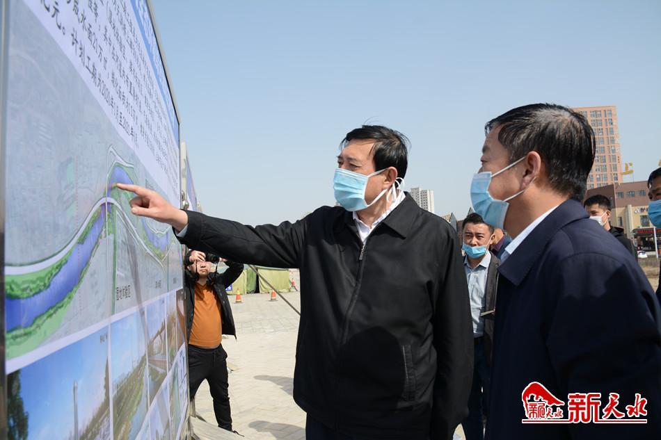 天水:赵卫东调研督查包抓重大项目