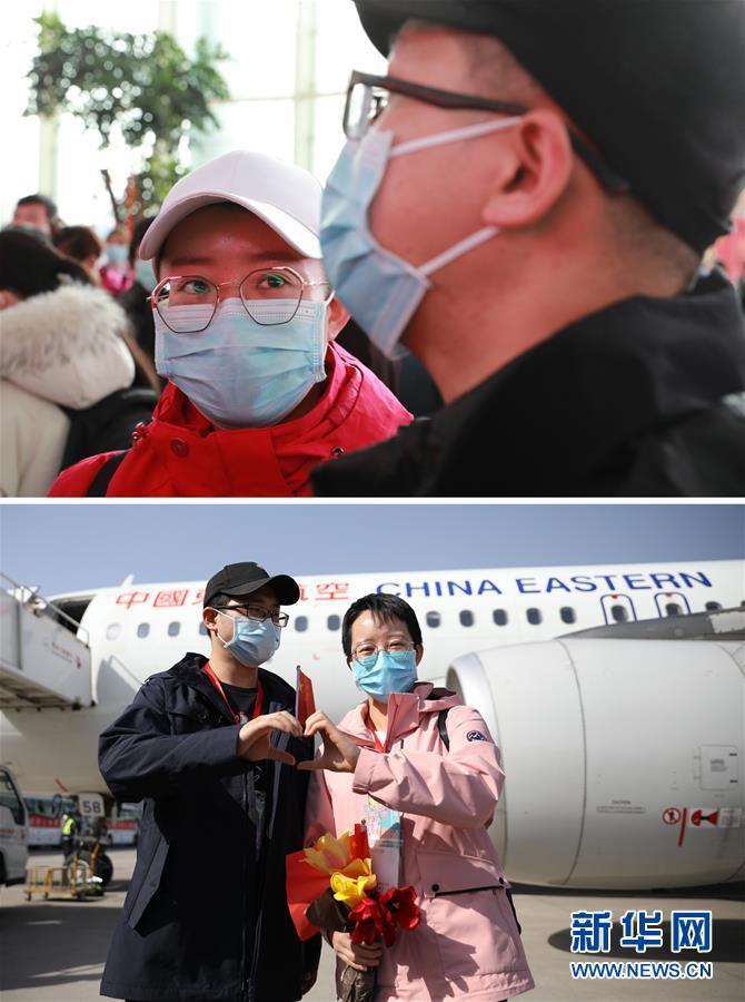 (聚焦疫情防控)(4)甘肃支援湖北医疗队第三批返回人员抵达兰州