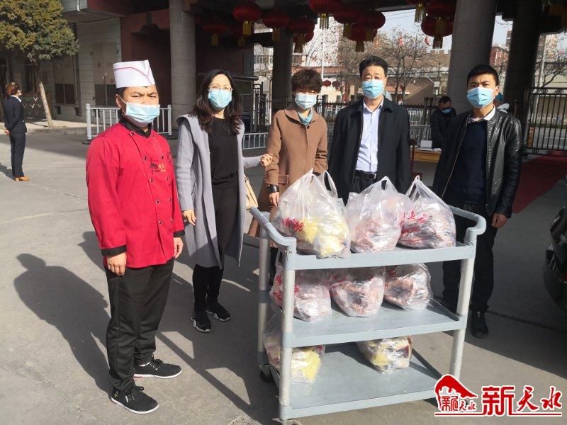 """天水为驰援武汉医疗队送上""""家乡的味道"""""""
