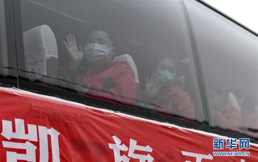 (聚焦疫情防控)(3)宁夏支援湖北医疗队323名医护人员抵达银川