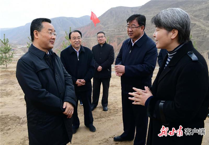 【快讯】唐仁健在东乡县调研脱贫攻坚等工作
