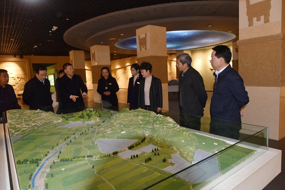 汪小娟副市长调研天水市博物馆文化旅游工作